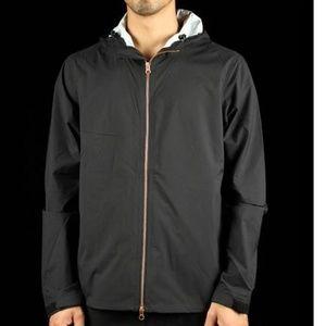 levis commuter echelon windbreaker jacket hooded